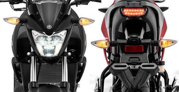LED Head Light & Tail Light (New)