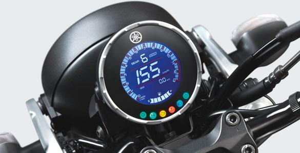 Full LCD Digital Speedometer