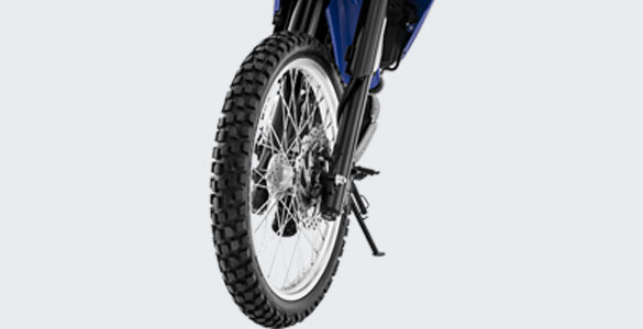 Dual Purpose Tire With Aluminium Rims