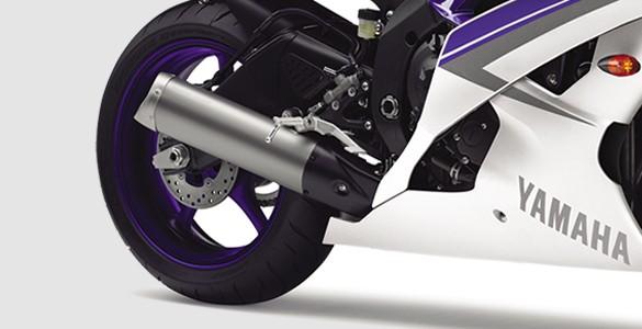 Titanium Muffler with EXUP System
