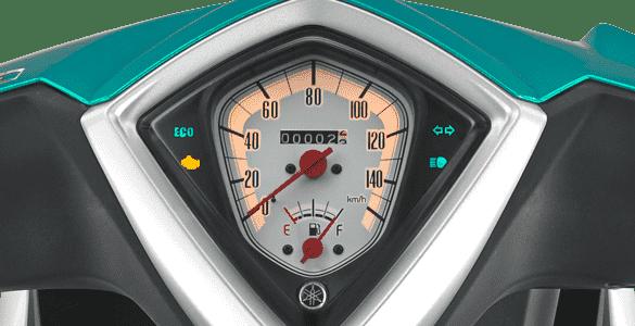 Speedometer Design With Eco Indicator