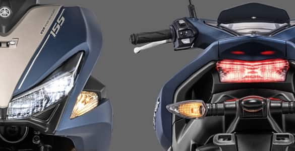 Sporty LED Headlight & Tail