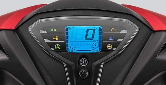 Digital Speedometer With ECO Indicator
