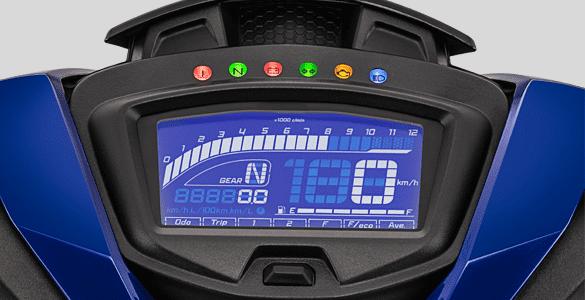 New Design Full LCD Speedometer