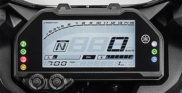 Full LCD Speedometer