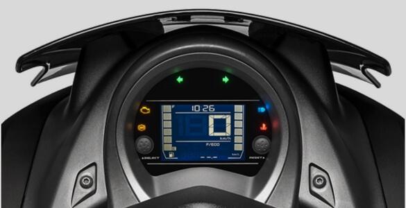 NEW - INVERTED LCD DIGITAL SPEEDOMETER