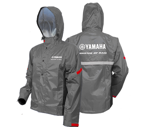 Yamaha Rain Suit Grey