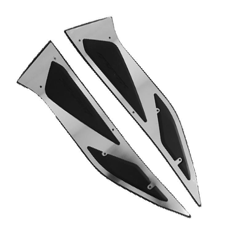 Footrest Alumunium Silver Kit