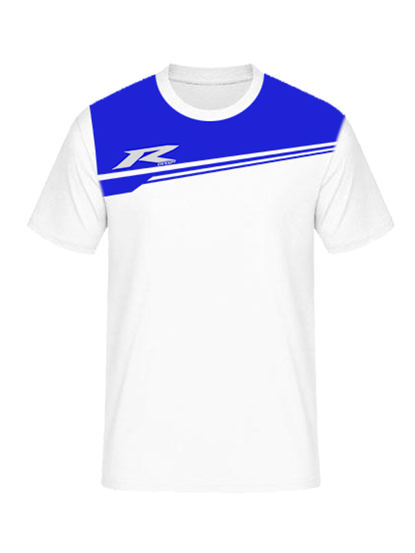 T-Shirt R Concept R03 White Blue
