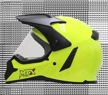 Helm Desain Supermoto YF-N6 Fluo