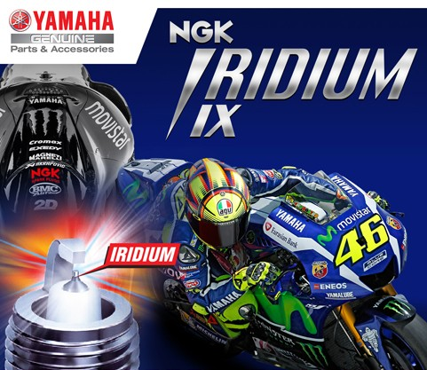 NGK IRIDIUM (CR9EIX) R15