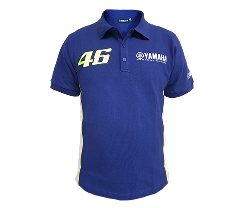 Polo Shirt Yamaha Factory Racing 01