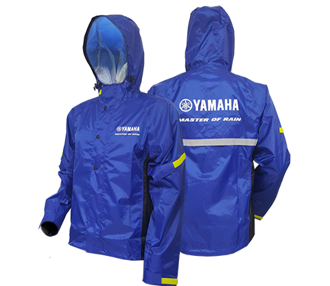 Yamaha Rain Suit Blue