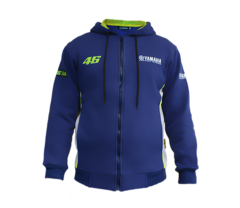 Hooded Parka 01 Yamaha Factory Racing